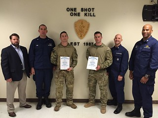 First Coast Guardsmen graduate from Army Sniper School