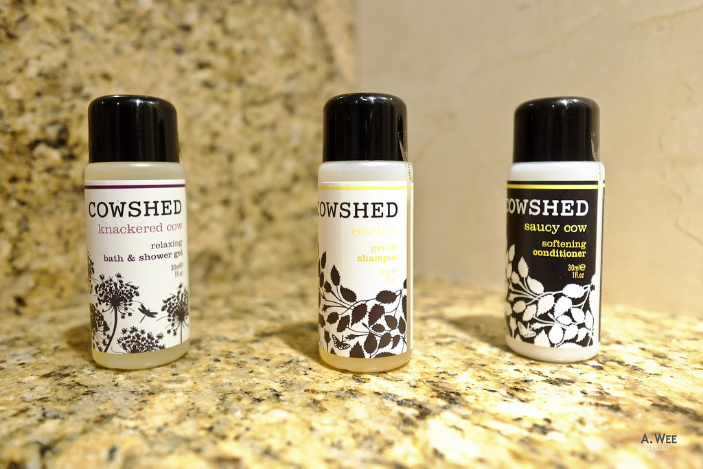 Cowshed bath amenities