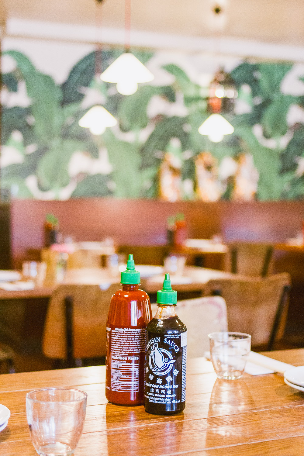 sauces viet Grill Restaurant pho mile Vietnamese modern kingsland road london