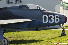 FU-36 036 - 52-7157 - Belgian Air Component - Republic F-84F Thunderstreak - Polish Aviation Musuem - Krakow, Poland - 151010 - Steven Gray - IMG_0576
