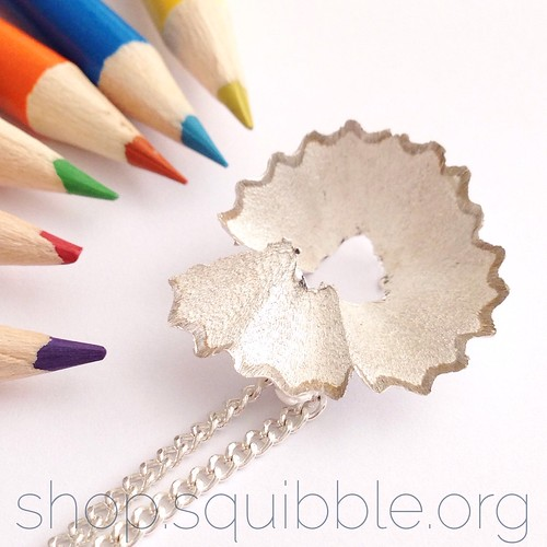 Sharpened Pencil Pendant by Squibble Design