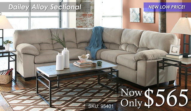 Dailey Alloy Sectional NLP