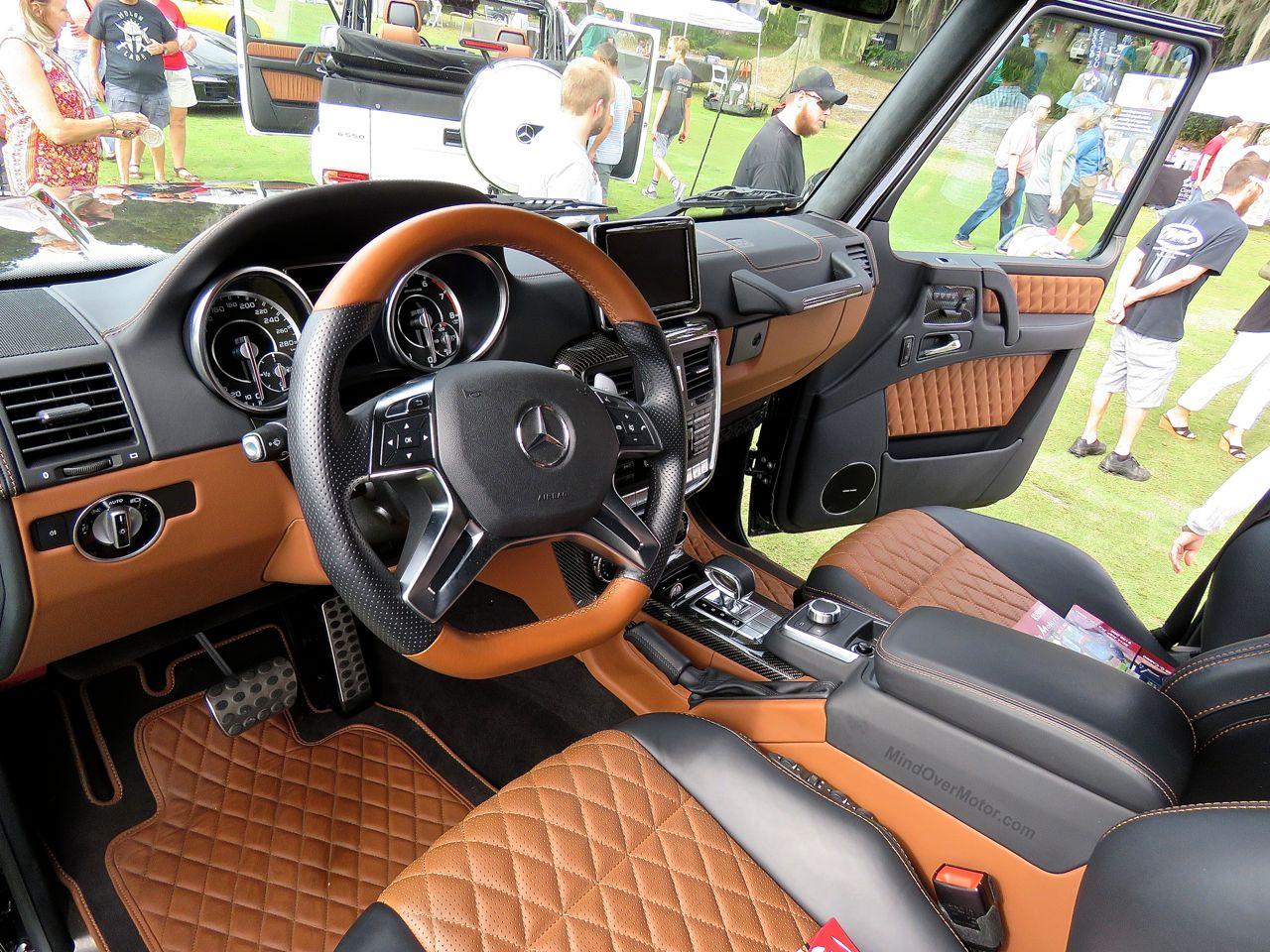 Mercedes G63 AMG 6x6 Amelia Island 2