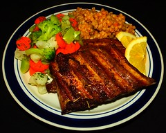 Garlic, Kahlua & Lemon Pork Ribs