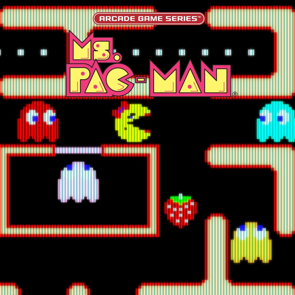 Arcade Game Series: Ms. Pac-Man (Disponível 20/4)
