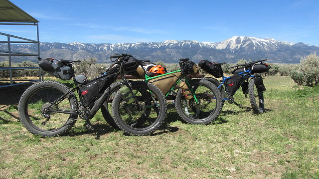 Bikepacking to Washoe Lake State Park