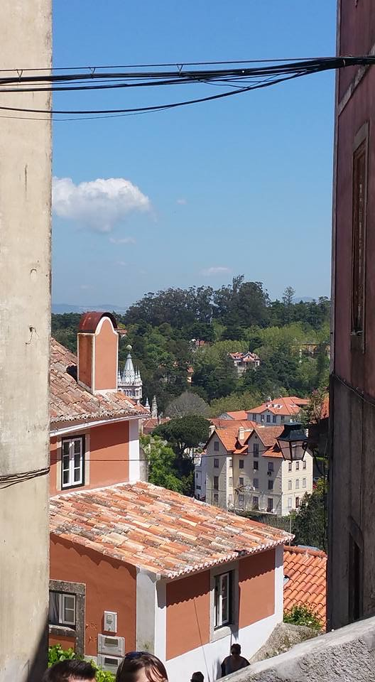 .. a view in Sintra Portugal ..