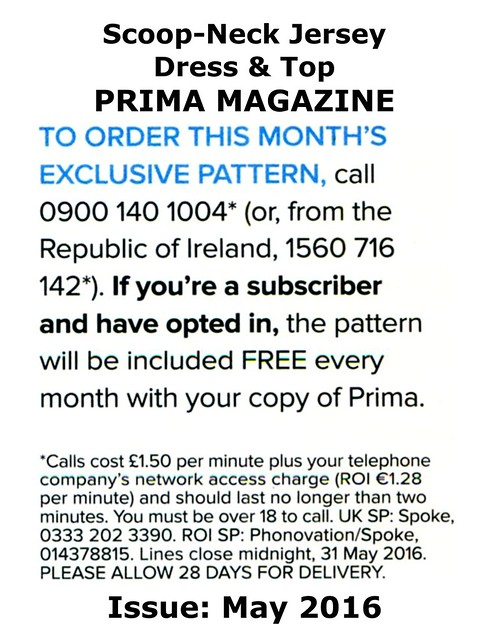 Prima Magazine - Pattern, May 2016 (04)