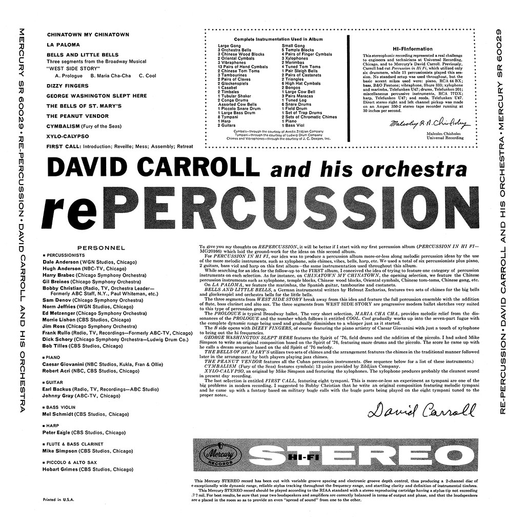 David Carroll - rePercussion