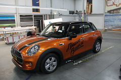Carwrap MINI Cooper 3M Liquid Copper