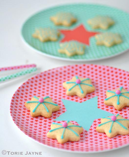 Melamine star plates