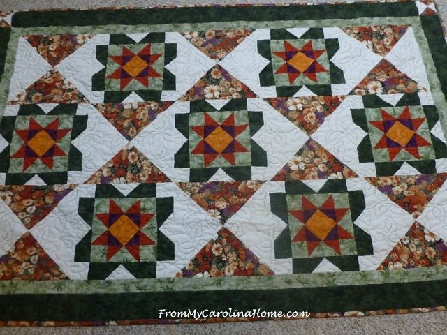 Cottage Garden Quilt remade | From My Carolina Home