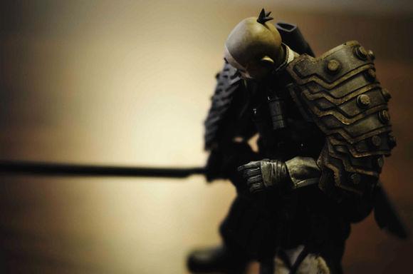 【玩具人天堂殺豬的投稿】threeA:liberator king no tomorrow shogun 開箱文