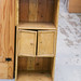 Pitch pine shelf unit