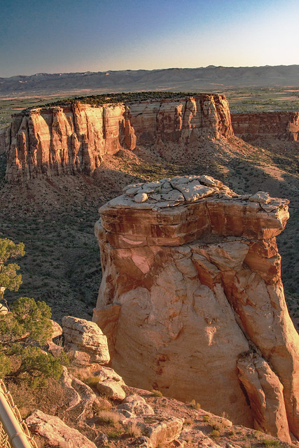 Sunrise at Colorado National Monument