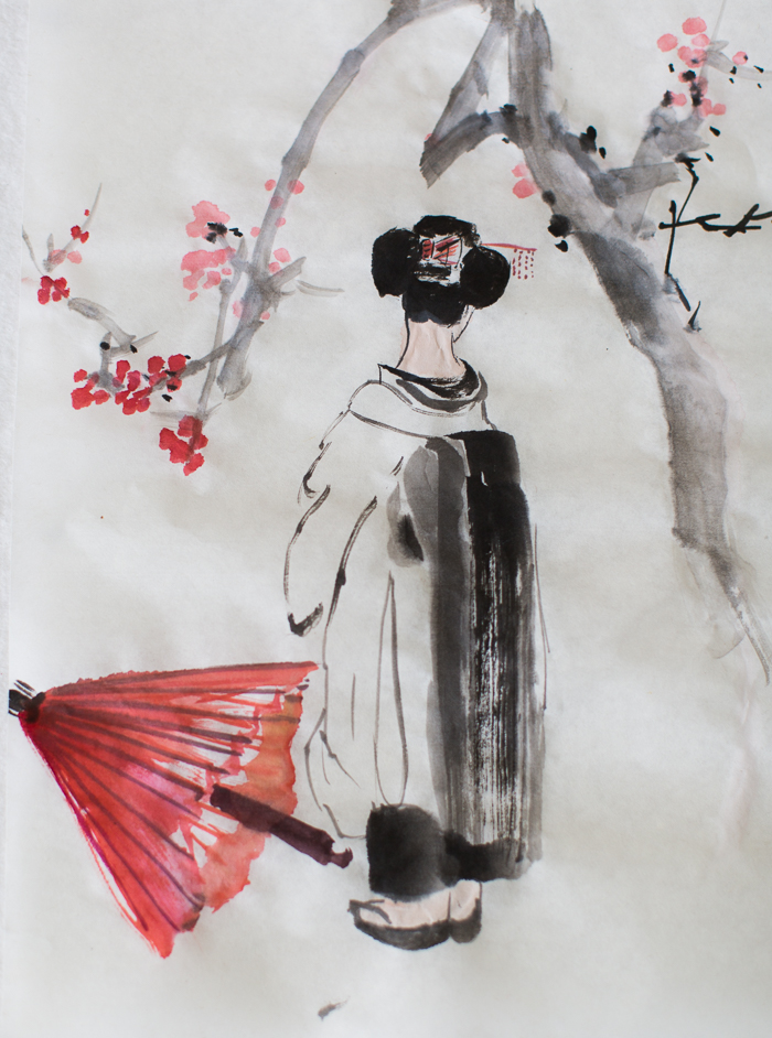 geiko-san by Yulia Lisitsa & Ransui Yakata