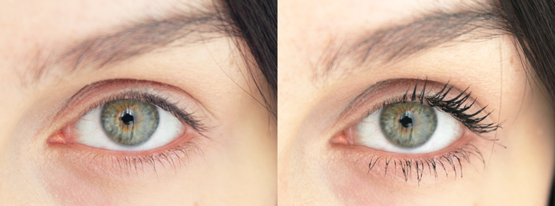 Bobbi Brown Eye Opening Mascara Before and After
