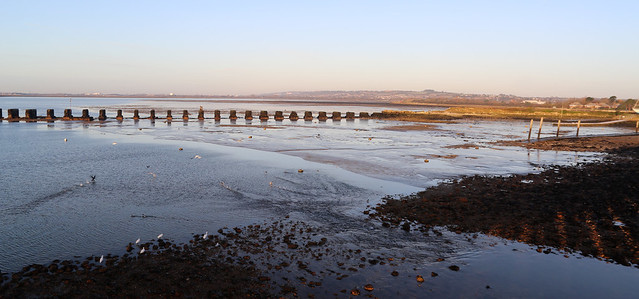 The old Hayling rail bridge