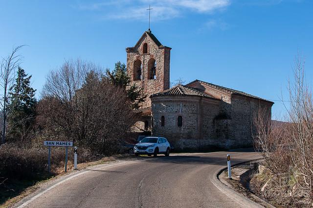 Ruta a la Chorrera de San Mamés