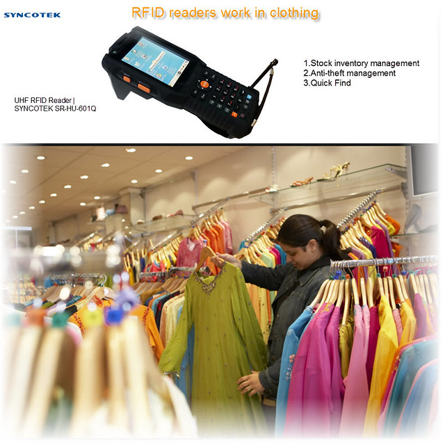 latest RFID technology Readers work in Clothing stores