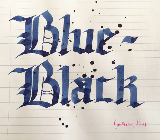 Ink Shot Review Pilot Blue-Black @JetPens  (6)