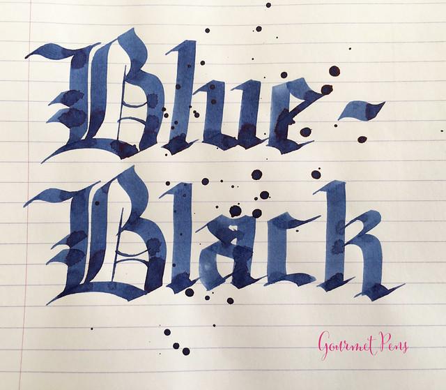 Ink Shot Review Pilot Blue-Black @JetPens (6)