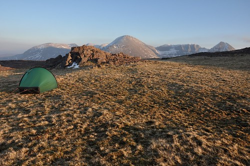 Camp and Beinn Eighe