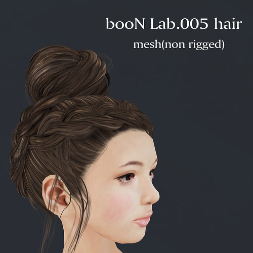 booN Lab.005 hair