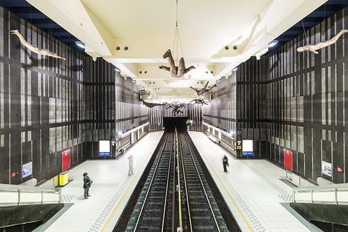 Brussels Metro Station Compte de Flandre