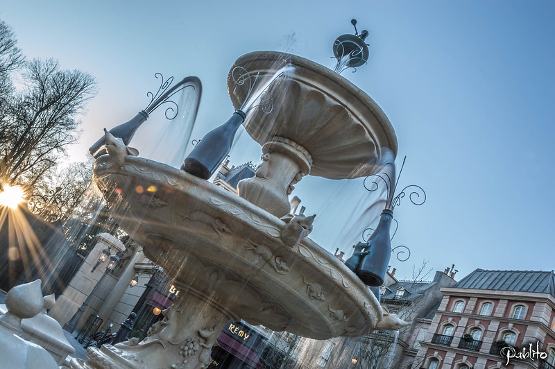 Ratatouille's Fountain
