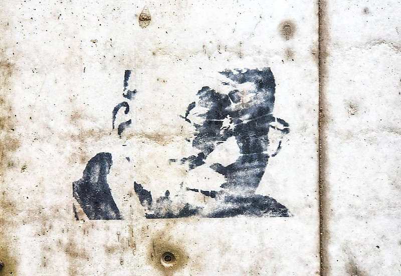 Evry Daily Photo - Street Art - Le  Dalai Lama a Evry