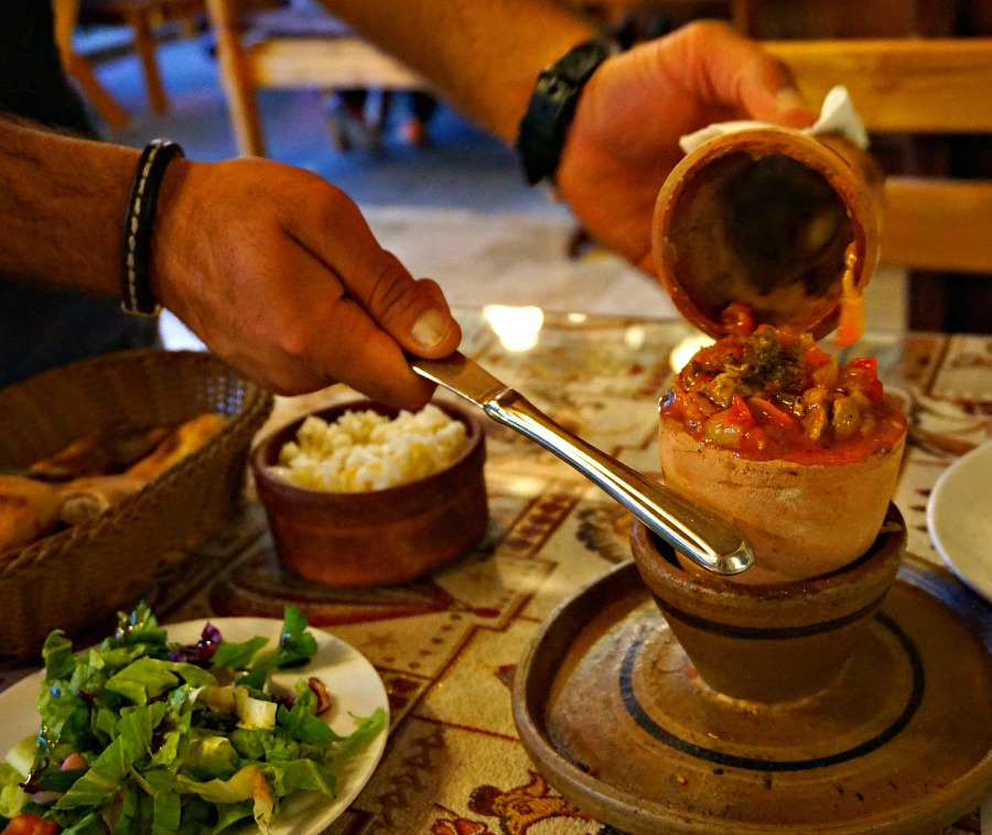 Turkish Clay Pot Kebab