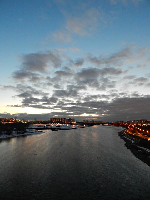 закат на Москва-реке | Хорошо.Громко.