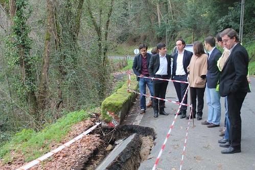 Deputados do PSD eleitos pelo Circulo eleitoral de Viseu visitaram o concelho de Vouzela