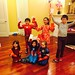 The kids with their Hong Bao