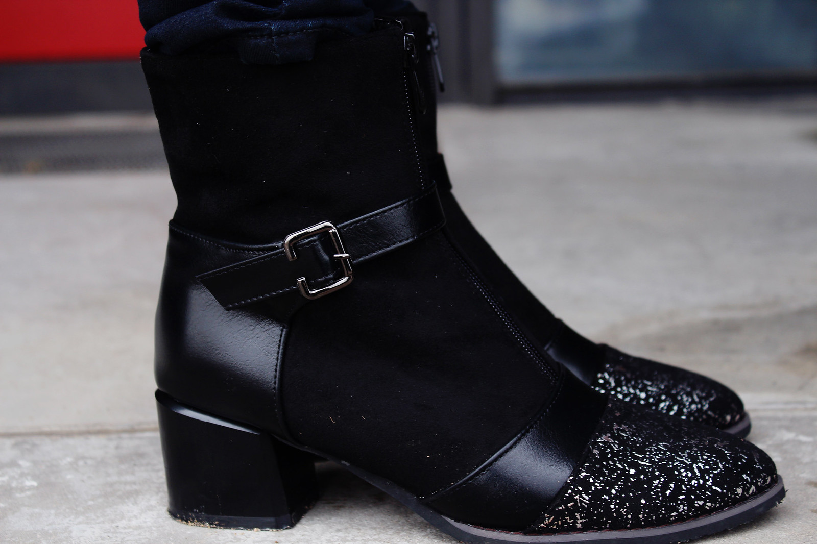 Edgy style boots