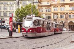 38 365+1 2016 Red Tram in Prague