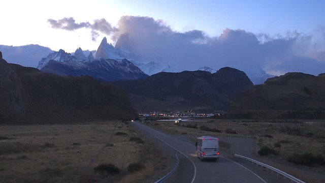 El Chaltén, sunset