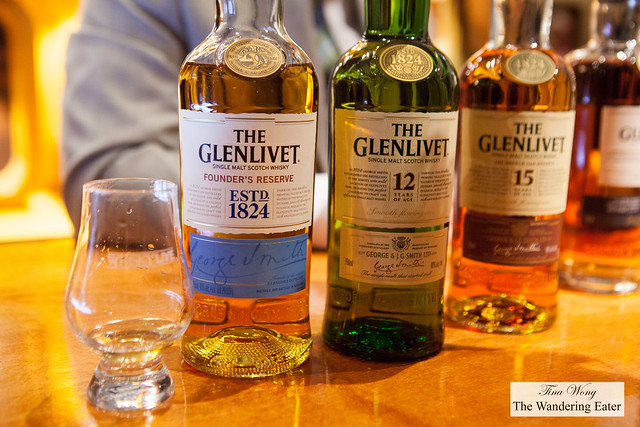 The Glenlivet Founders Reserve, 12 and 15-Year