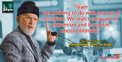 ?Islam has nothing to do with any act of terrorism. We reject every act of extremism and terrorism unconditionally.?