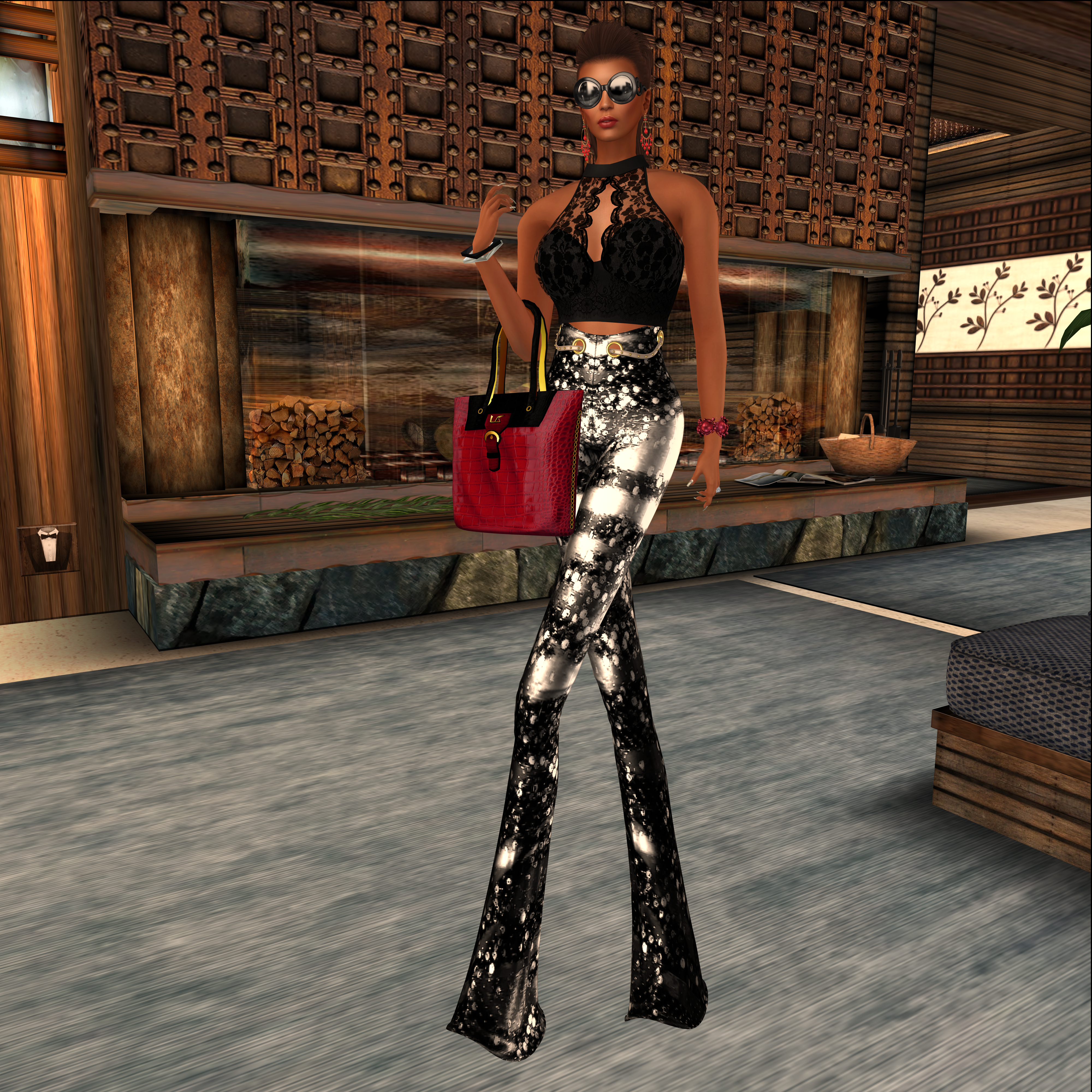 Secret Wednesday @LaVian&Co- By Sam- The Look