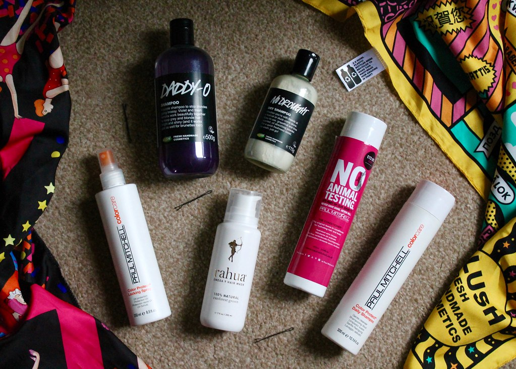Products for coloured hair