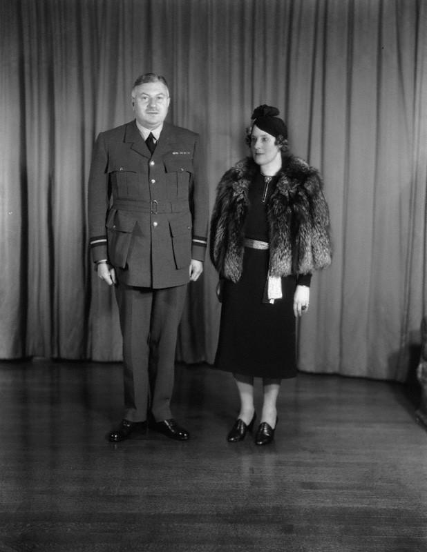 NPG x124405; Sir (William) Lindsay Everard; Cornelia Ione Kathleen (nÈe Beresford-Armstrong), Lady Everard
