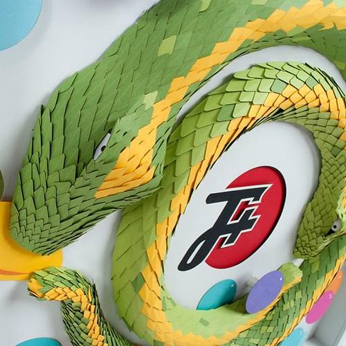Paper Snake by Ellen Schofield