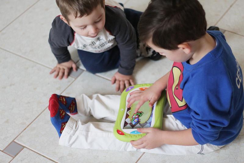 Bambini tecnologici e Chicco Happy Tab