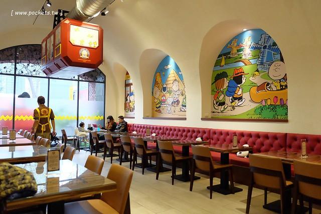 25423817191 96d838b04e z - 【台中西屯】查理布朗咖啡.Charlie Brown Cafe:位於秋紅谷正對面鄰近朝馬車站,環境很漂亮也很好拍,餐點可愛觀賞性大於美味性