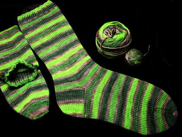 Sea Urchin Socks