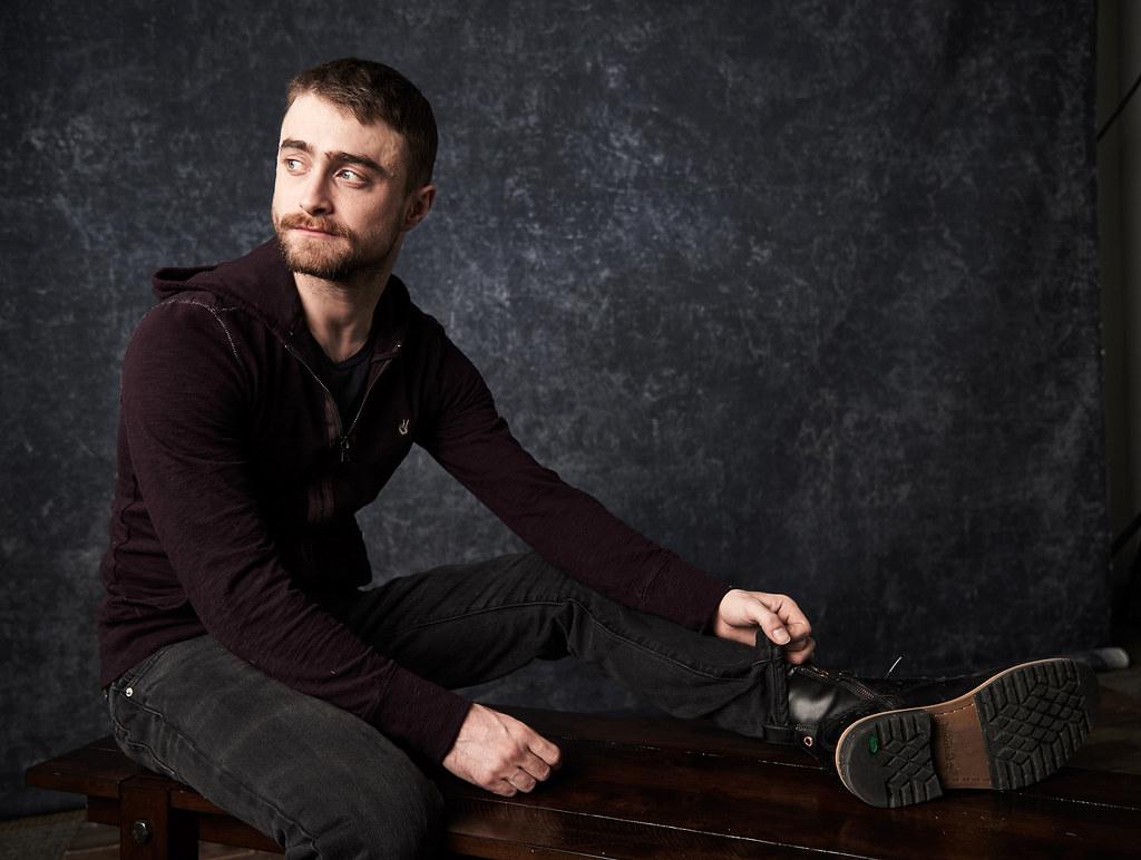 Дэниел Рэдклифф — Фотосессия для «Перочинный человек» на «Sundance» 2016 – 20