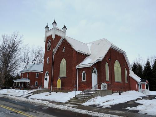 winter ontario canada church hiver église oxfordmills unitedchurchofcanada oxfordmillsunitedchurch