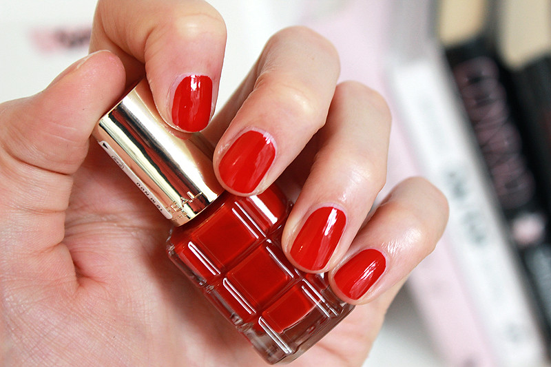 The new thing nail polish with oil l 39 or al paris color for L oreal jardin pamplemousse